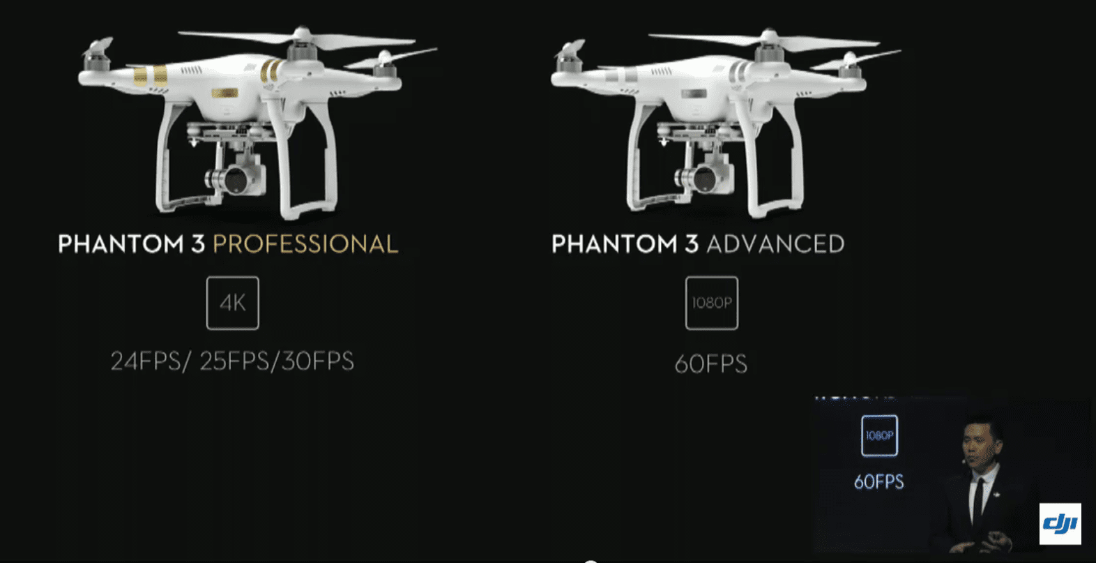 Phantom 3 Pro and Phantom 3 Advanced